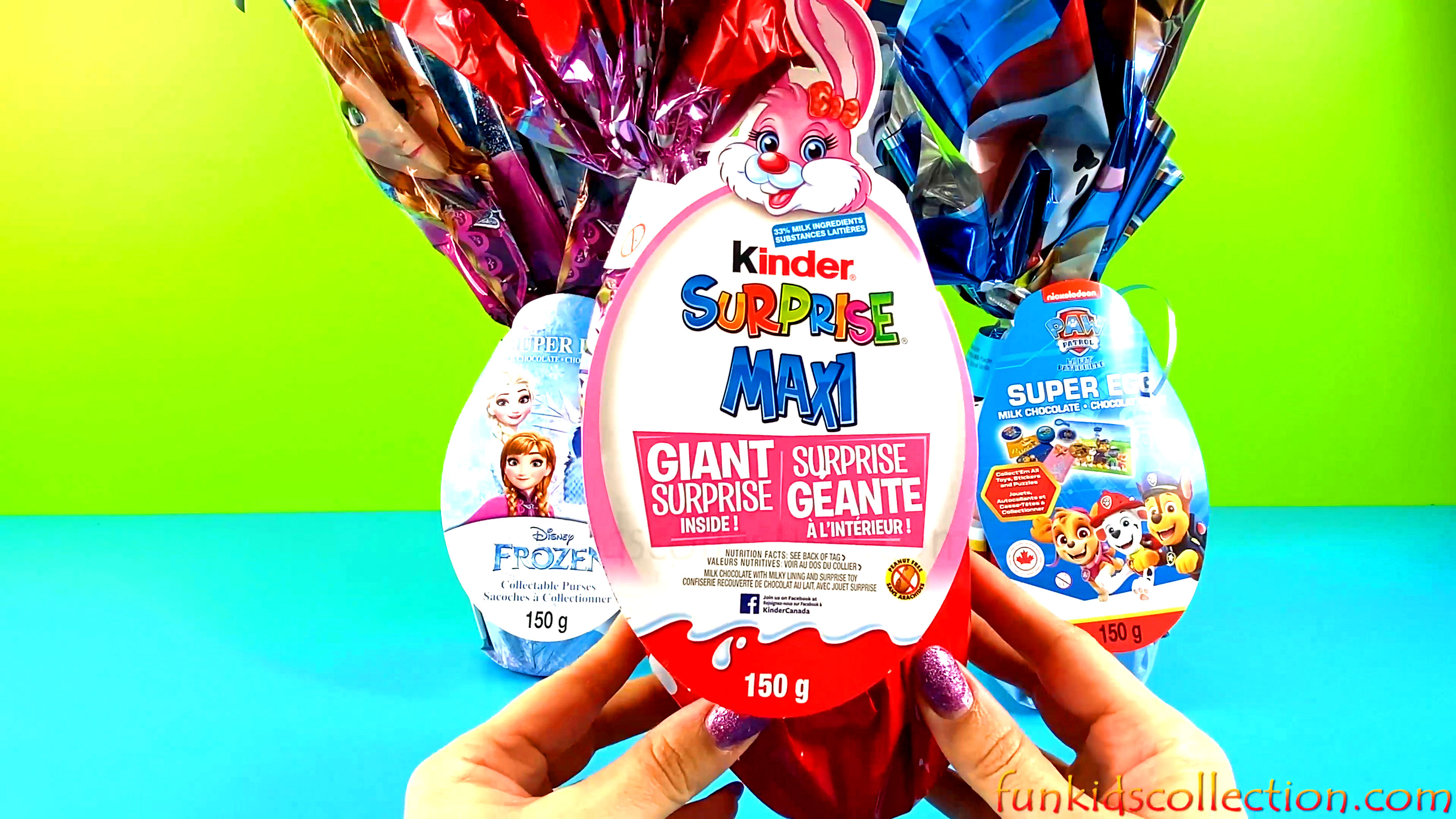 Disney Frozen Collectable Purses Super Egg | Giant Egg Kinder Surprise Maxi | Paw Patrol Super Egg