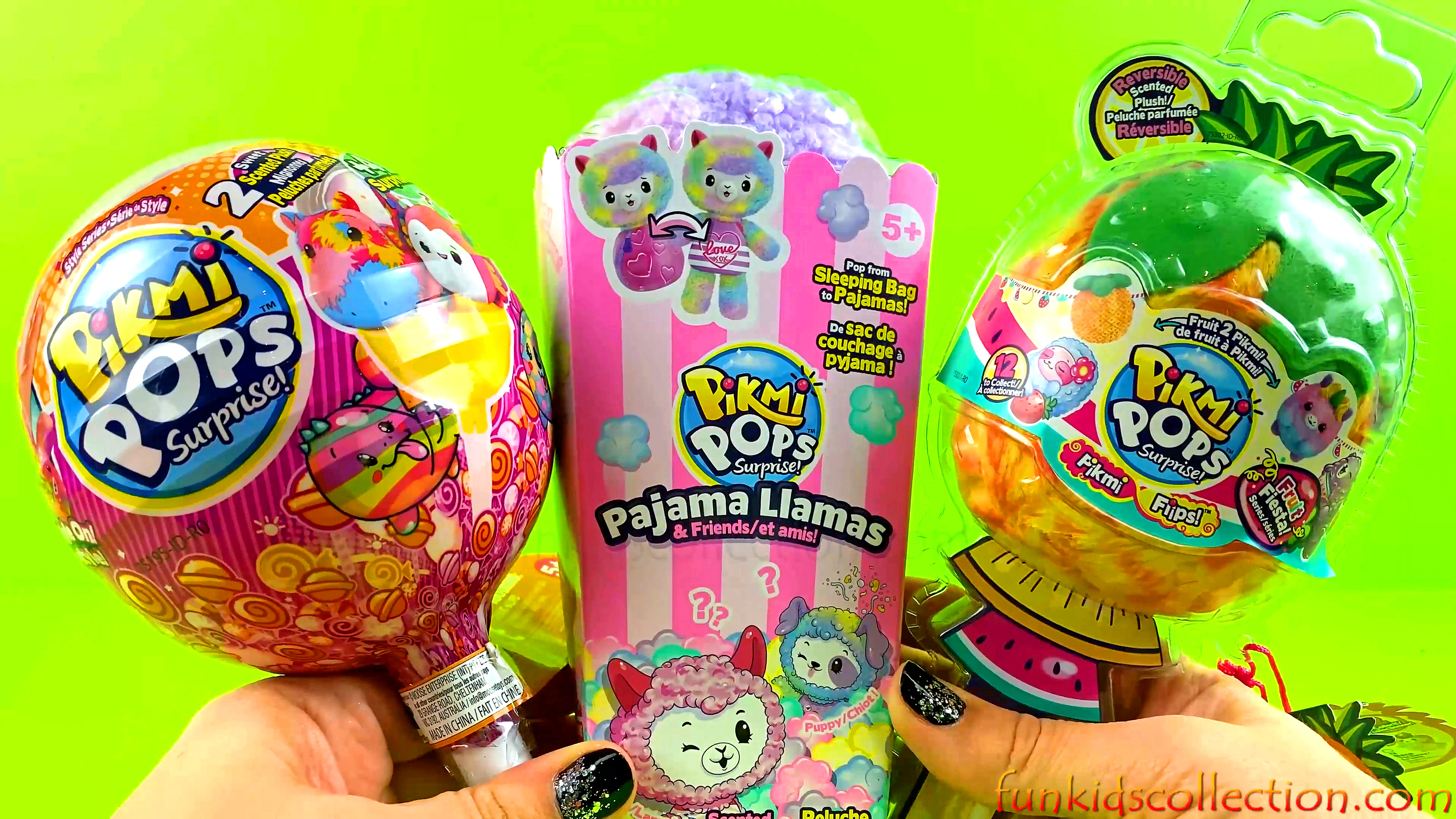 Pikmi Pops Surprise | Unboxing Pikmi Pops Pajama Llamas Pikmi Pops Surprise Style Series Pikmi Flips