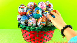 Opening 70 Eggs Surprises Kinder Egg Surprises Zaini Egg Surprises Hasbro Eggs Surprises | EBD Toys