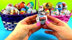 2 Baskets Full Egg Surprises Opening 40 Eggs Surprises of Kinder Egg Surprises and Zaini Egg Surpris