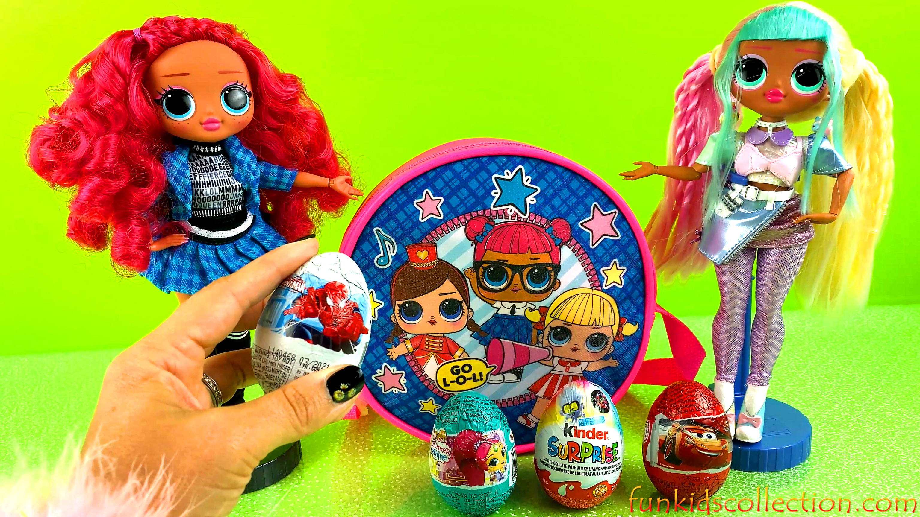 Opening Egg Surprises | Lol Surprise Dolls Present Kinder Egg & Zaini Egg Surprises