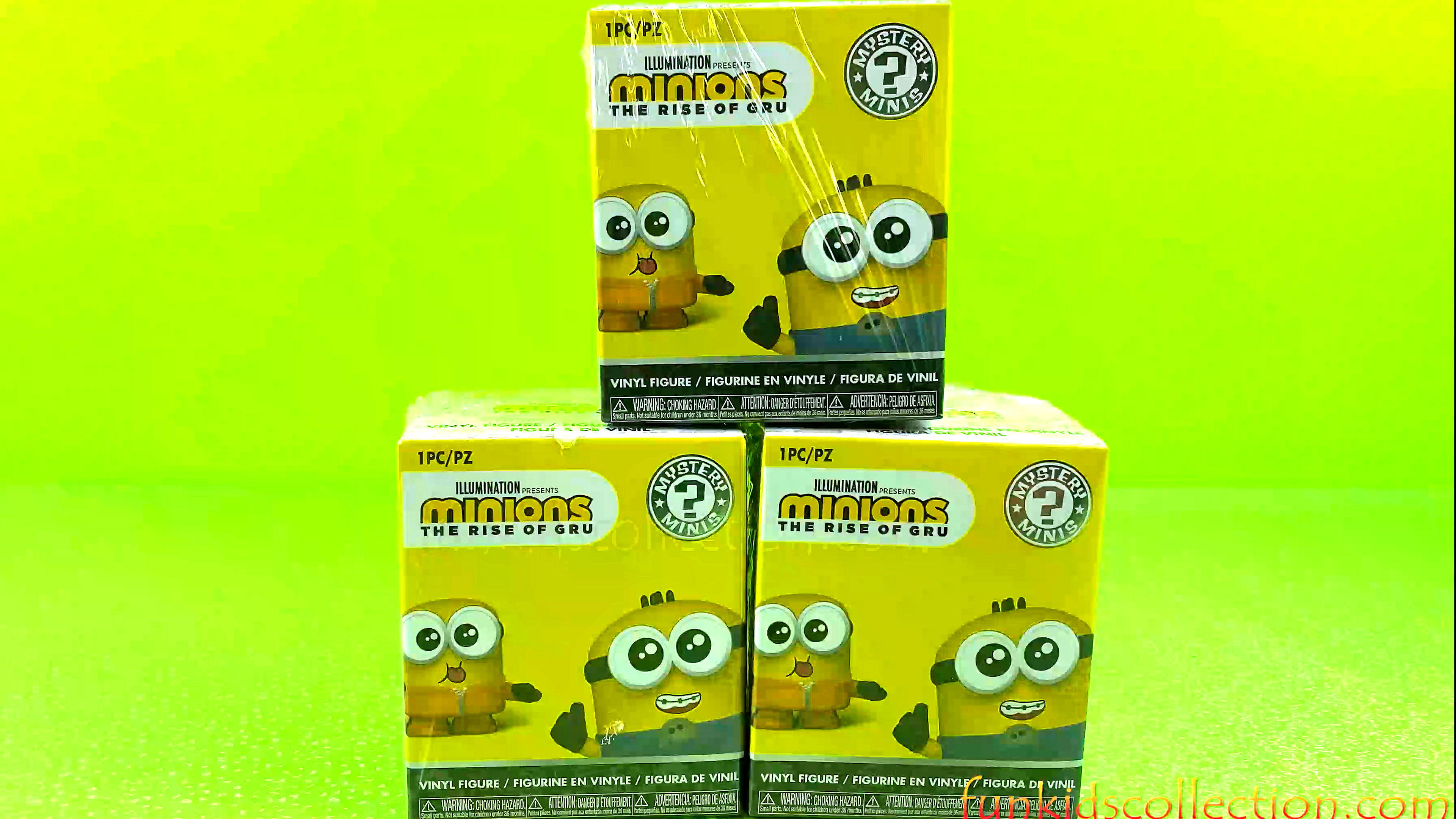 Minions Unboxing | Unboxing Minions The Rise of Gru Mystery Minis Vinyl Figure | EBD Toys