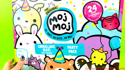 Unboxing The Original Moj Moj Party Pack | Moj Moj Party Pack with 24 Surprises  and Fun Game