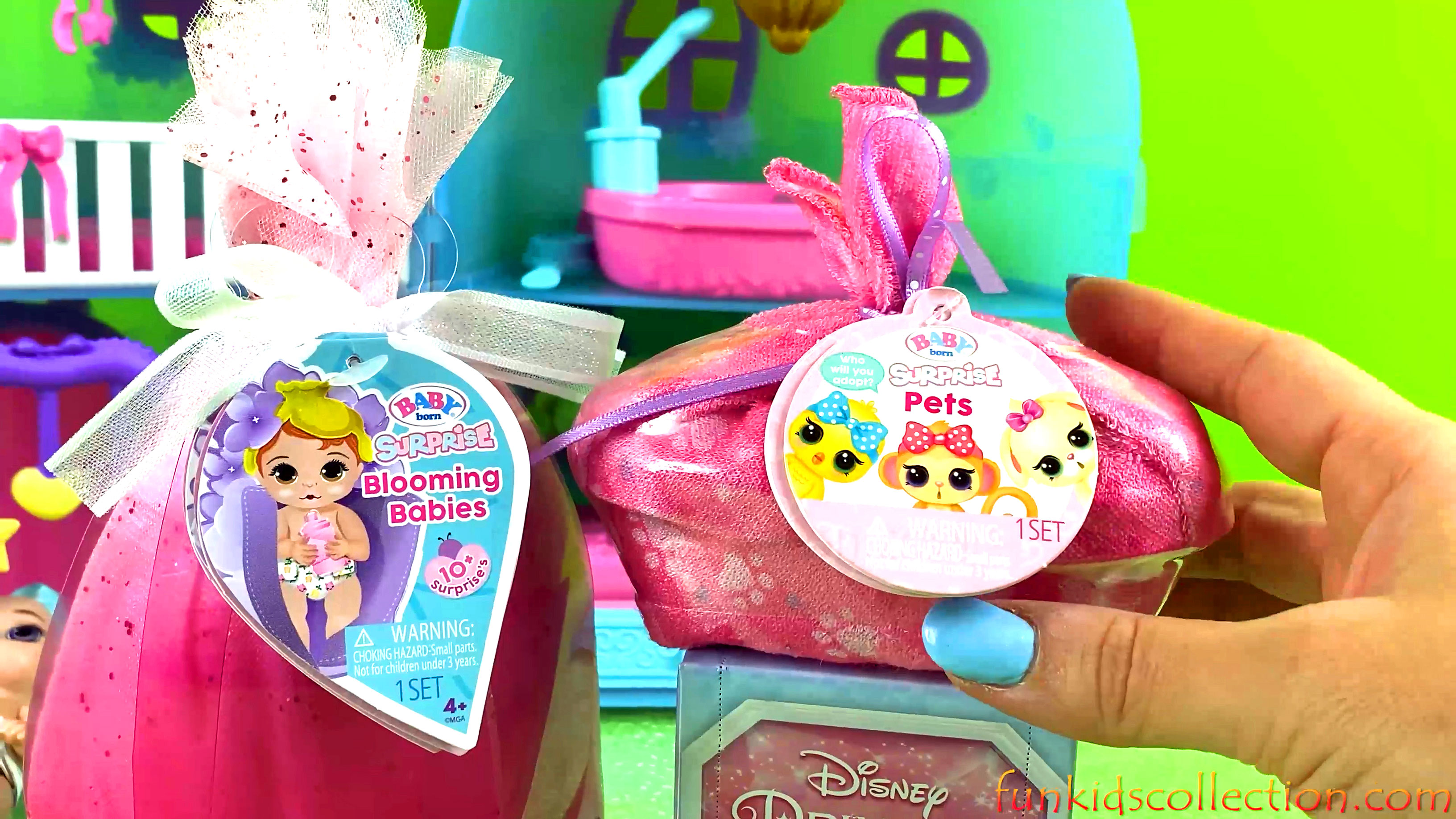 Baby Born Surprise Blooming Babies | Opening Baby Born Surprise Pets | Princess Gem Collection