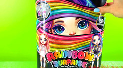 Unboxing Poopsie Rainbow Surprise Fashion Dolls Pixie Rose! Rainbow Poopsie DIY Slime Fashion Doll