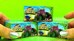 Unboxing Monster Trucks Hot Wheels | Unboxing Monster Trucks Shark Wreak Milk Monster Hissy Fit