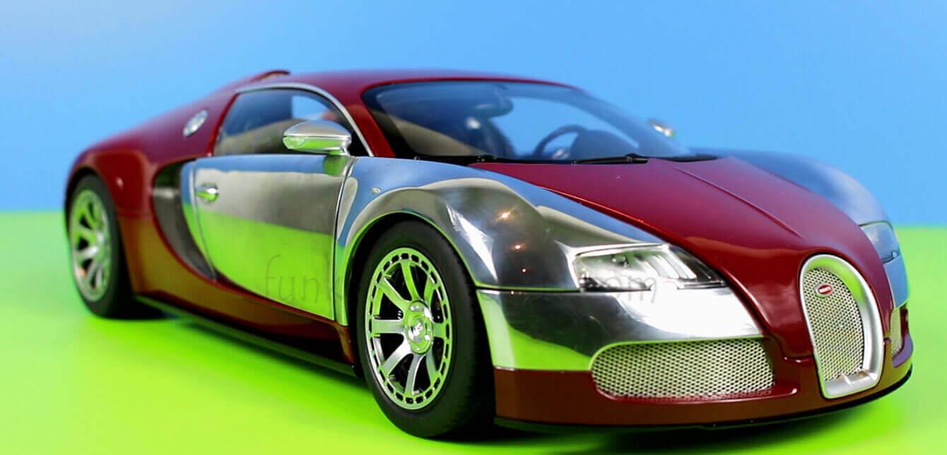 Bugatti Die Cast Car