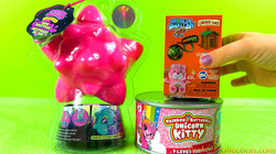Goo Goo Galaxy Goo Critters Slime | Mystery Classic Minis Collectible Toys | Rainbow Butterfly Unico