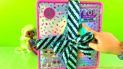 Lol Surprise Toys | Unboxing Lol Surprise Deluxe Present Surprise Limited Edition Exclusive Doll & P