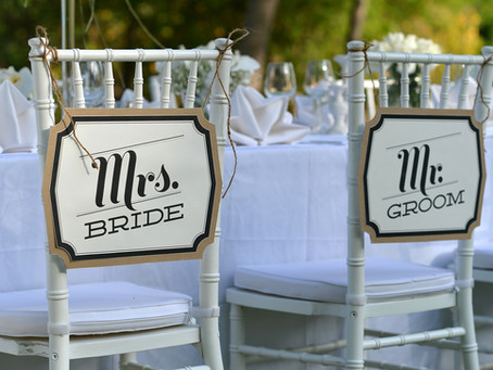 Beyond the Welcome Sign: All The Wedding Signage You Need for Your Wedding