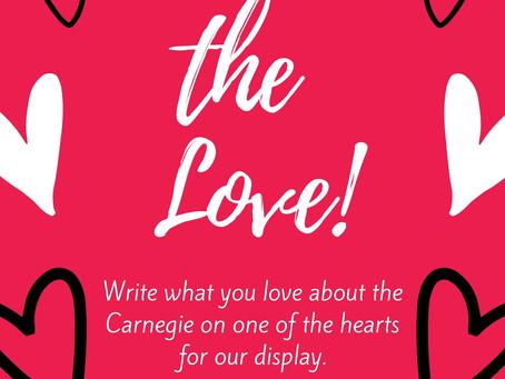 This Week at the Carnegie: Feb. 10-14