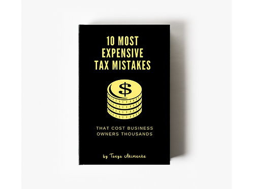 10 Most Expensive Tax Mistakes