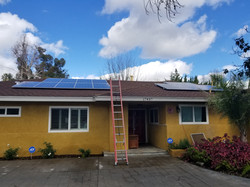 northdridge solar install
