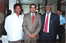 Guyana President & US Ambassador