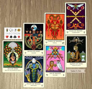 Tabula Mundi Tarot by M.M.Meleen