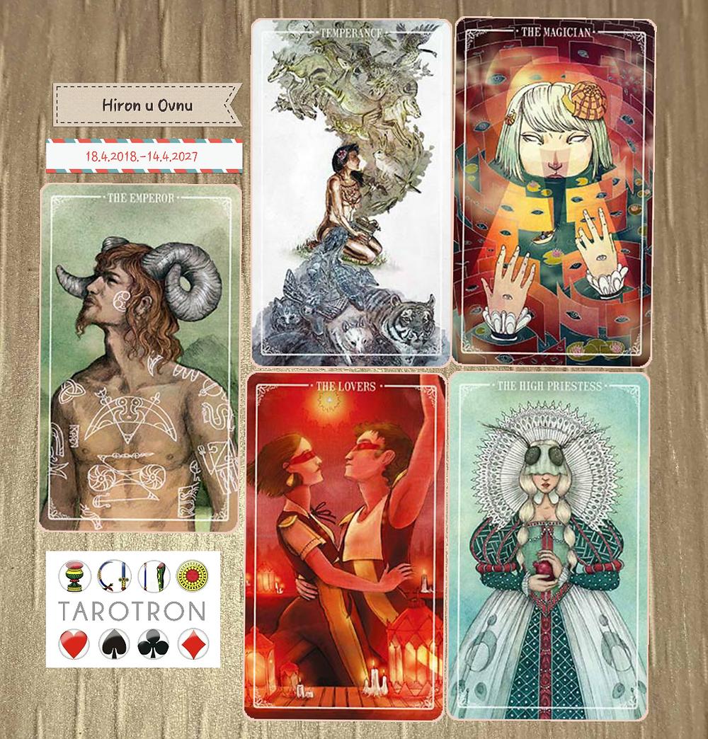 Ostara Tarot (Molly Applejobn, Eden Cooke, Krista Gibbard, Julia Iredale, Mariya Olsbevska)