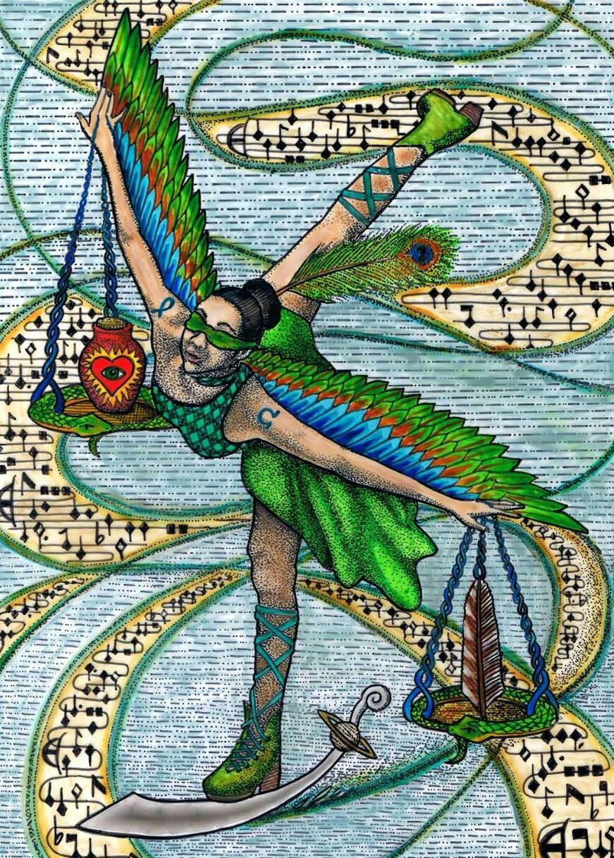Tabula Mundi Tarot by M.M. Meleen