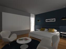 Aménagement d'une chambre