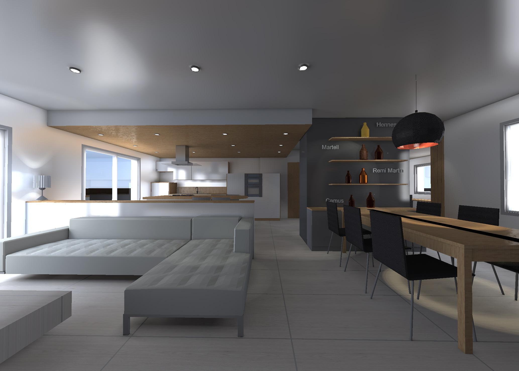 Rénovation d'un séjour