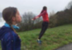 Les Wind run