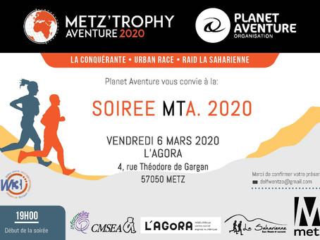 Metz'Tophy Aventure 2020 - Soirée de présentation