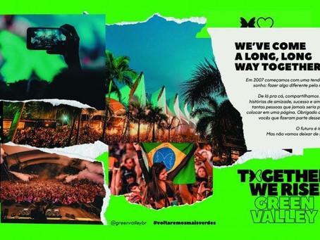 Green Valley lança o movimento Together We Rise para celebrar a história do clube