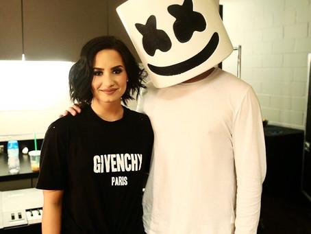 "Demi Lovato confirma título de parceria com Marshmello: ""It's OK Not To Be OK"""