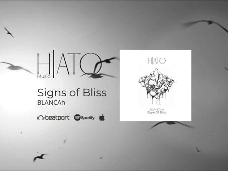 "BLANCAh estreia na HIATO MUSIC com ""Signs of Bliss"""