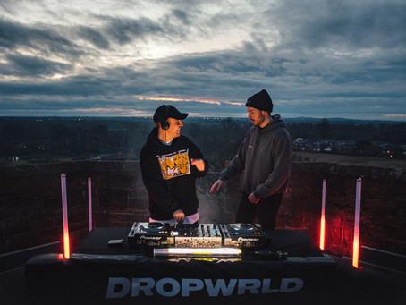 Third Party faz set em torre de 30 metros para lançar a nova marca de roupas, DROPWRLD