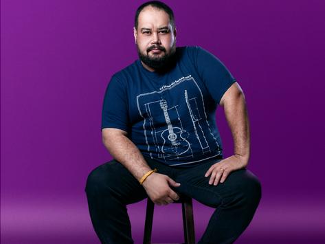Com nova autoral pela Mustache Records, Rafael Bossi segue crescendono mercado da música.