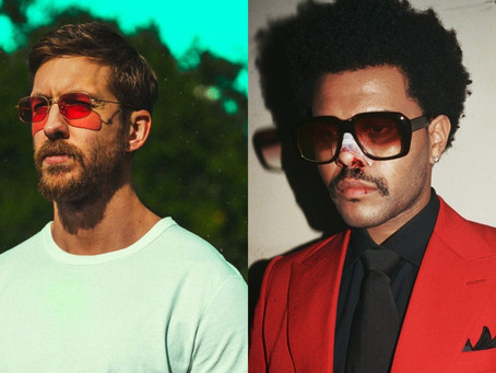 """Calvin Harris e The Weeknd celebram primeira parceria com """"Over Now"""""""