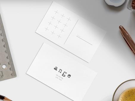 #001 | angeさんの極シンプルカード