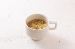 あおさ香るきのこの卵スープ
