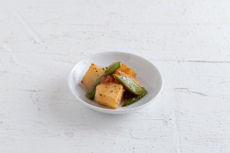 長芋とスナップエンドウの梅炒め.jpg