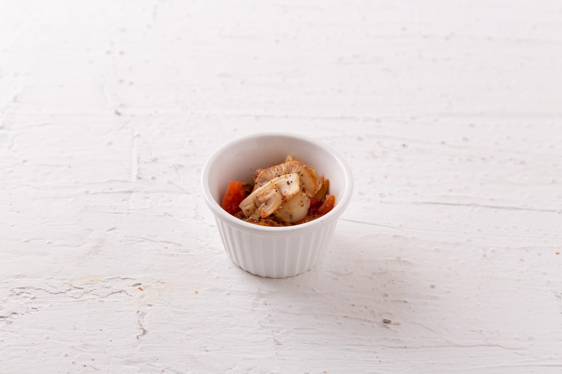 トマトのバター醤油ソテー