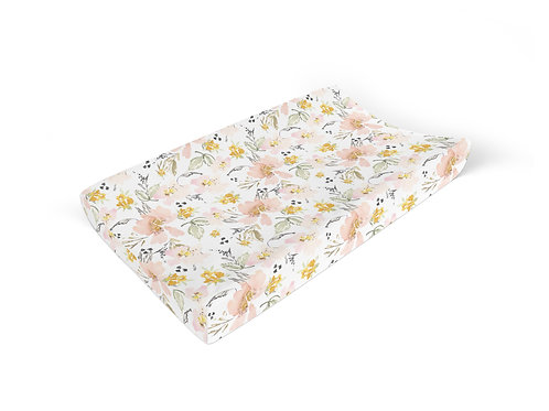 Kennedy Vintage Floral - Changing Pad Cover