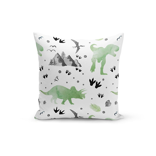 Let's Be Dinosaurs - Throw Pillow Cover