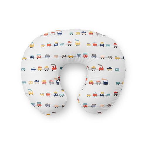 Happy Little Train - Nursing Pillow Cover