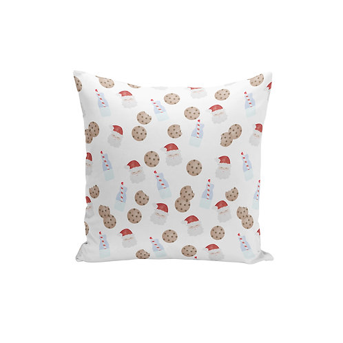 Cookies for Santa - Throw Pillow Cover