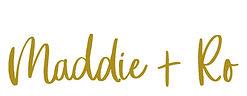 Maddie + Ro Logo
