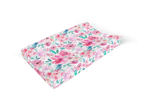 Pink Cordelia - Changing Pad Cover