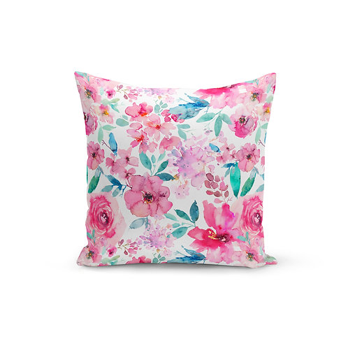 Pink Cordelia - Throw Pillow Cover