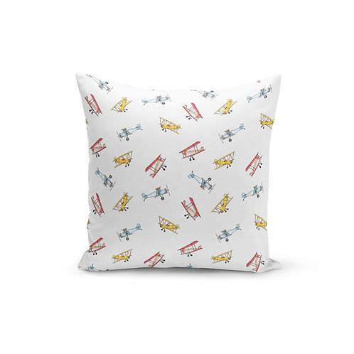 Vintage Airplane - Throw Pillow Cover