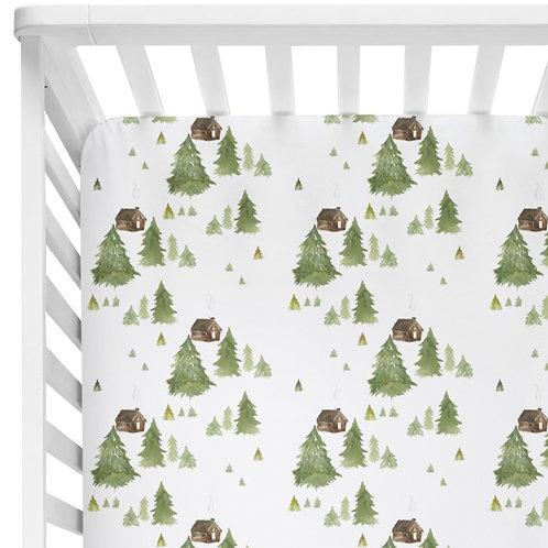 Little Lodge - Crib Sheet