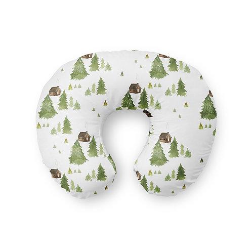 Little Lodge - Nursing Pillow Cover