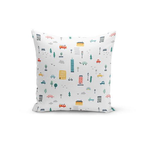 City Slicker - Throw Pillow Cover