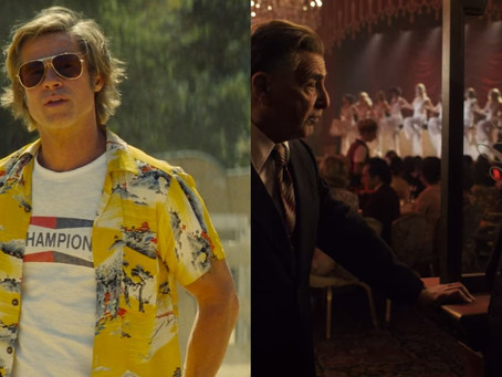 Once Upon a Time in Hollywood (Quentin Tarantino, 2019) / The Irishman (Martin Scorsese, 2019)