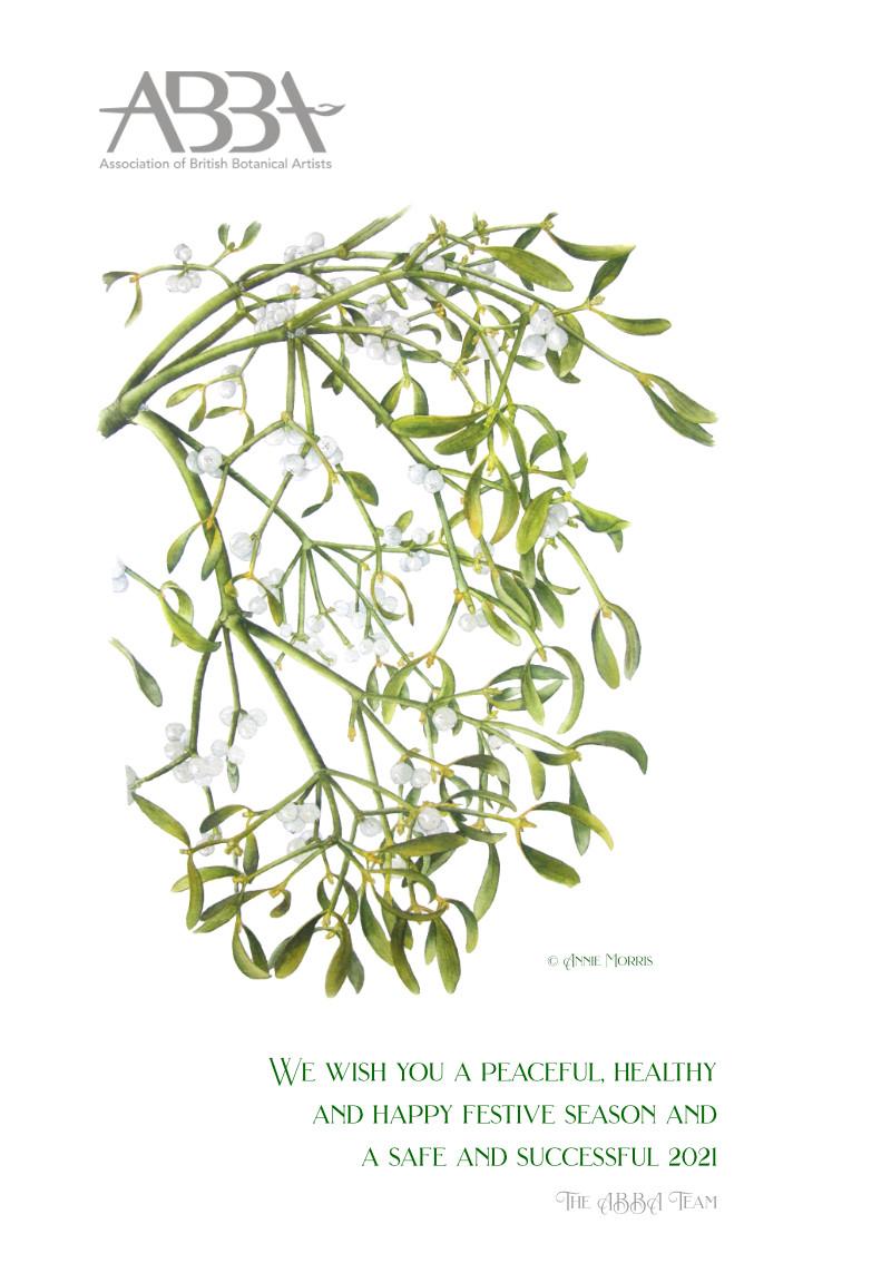 Mistletoe by Annie Morris