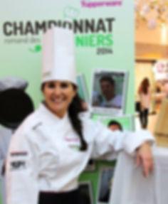 Championne romande de cuisiniers amateurs 2014.