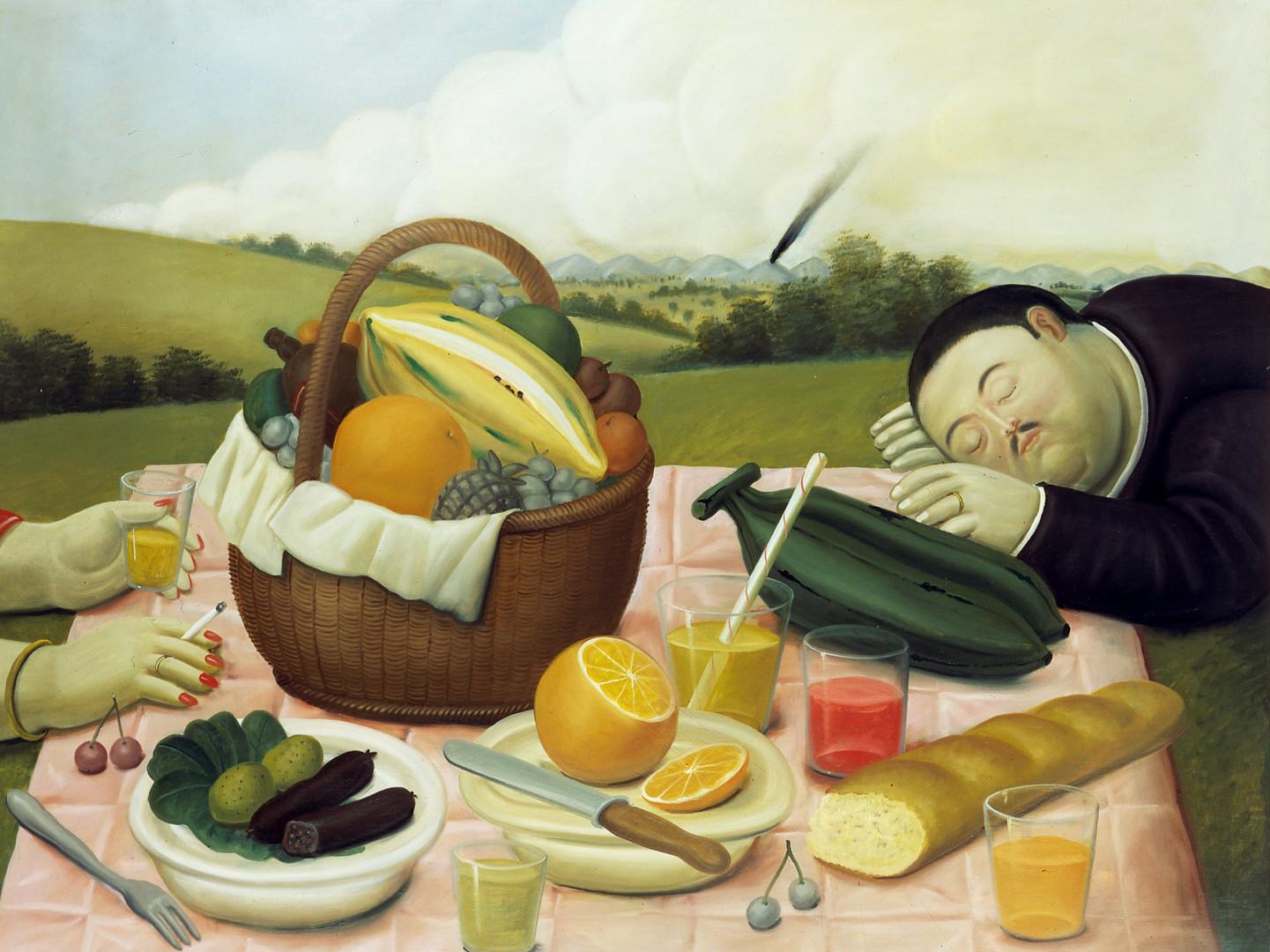 Picnic, 1989_oleo sobre lienzo
